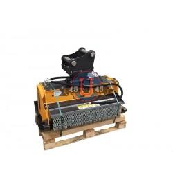 Têtes de broyage FEMAC Tête de broyage T9 MZ 105 REV pour mini pelle 6T et 10T