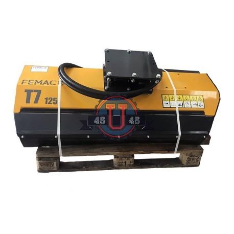 Têtes de broyage FEMAC Tête de broyage T7 105 pour mini pelle entre 5T et 8T