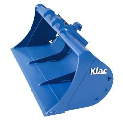 Godets de curage KLAC INDUSTRIES Godet curage fixe 1200 MM en a/r Klac C pour mini pelle entre 1,2 et 1,8T