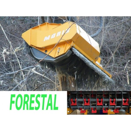 Tête de broyage forestière FEMAC Tête de broyage forestière T11 FR 130 pour mini pelle entre 8 et 12T
