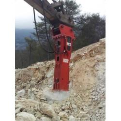 BRH / Brise Roche Hydraulique SOCOMEC MDO 1600 TS pour pelle entre 19T et 25