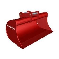 Godets de curage CANGINI BENNE Godet curage fixe 800 MM en a/r MARTIN M02 pour minipelle entre 0,6-1,2T