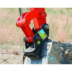 Godet terrassement standard 200 MM en a/r MBI AR15 FAST LOCK pour minipelle entre 1,2-1,8T