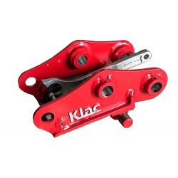 Attaches rapides pour pelle dédiée KLAC INDUSTRIES Attache rapide Mécanique KLAC System D