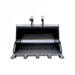 Godet terrassement standard 250 MM pour minipelle entre 0,6-1,2T