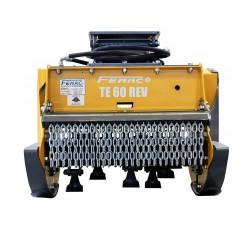 Têtes de broyage FEMAC Tête de broyage T9 70 REV pour mini pelle entre 2,5T et 4T