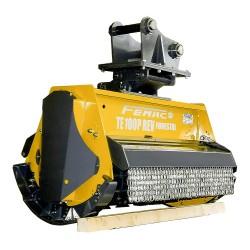 Tête de broyage forestière TE 100 P REV FORESTAL pour mini pelle entre 8 et 16T