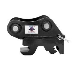 Coupleur Mécanique UE02UQ pour mini pelles entre 1,2 et 1,8T