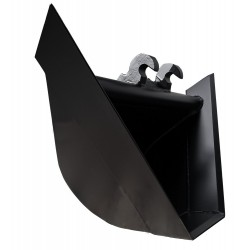 Godet trapèze avec Angle ° : à 60 en attache KLAC C pour minipelle entre 1,2-1,8T