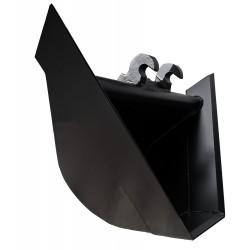 Godets pour pelle  Godet trapèze avec Angle ° : à 60 en attache KLAC D pour minipelle entre 1,8-2,8T