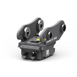 Attache rapide mécanique réversible MBI / CANGINI CR15 pour mini pelle entre 0,6-1,2 T