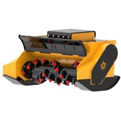 Têtes de broyage FEMAC Tête de broyage forestière T20 DF 180 pour pelle entre 20T et 30T