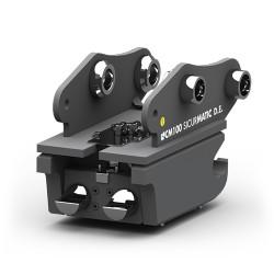 Attaches rapides pour pelle dédiée CANGINI BENNE Attache rapide mécanique réversible CM30 (type MARTIN) pour mini pelle entre...