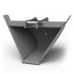 Godets pour pelle CANGINI BENNE Godet trapèze 60° pour minipelle entre 1,8-2,8T