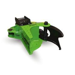 Grappin coupeur Big Inch BI 300 pour mini pelle entre 8,0T et 18,0T